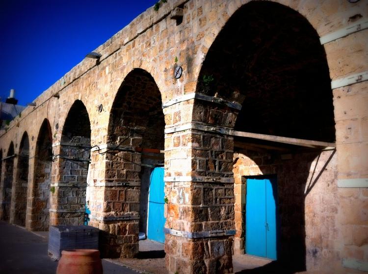 Khan el Shwarda, Old Acre.   Photo by Nadine Assoune