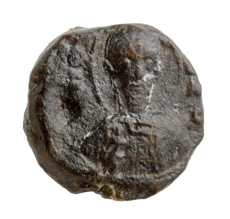 Front of the seal. Photographic credit: Clara Amit, courtesy of the Israel Antiquities Authority.
